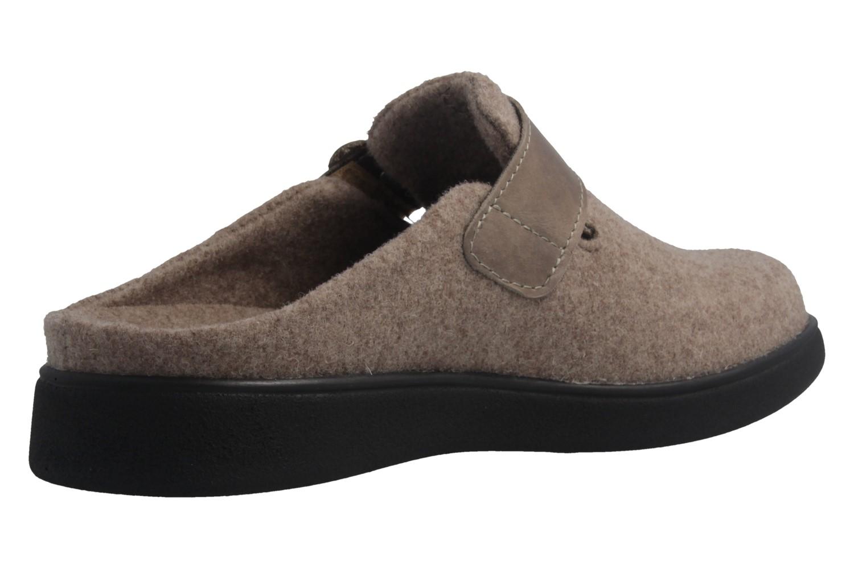 ROMIKA - Gomera 03 - Damen Hausschuhe - Beige Schuhe in Übergrößen – Bild 3