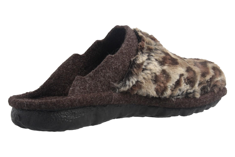 ROMIKA - Mikado 99 - Damen Hausschuhe - Braun Schuhe in Übergrößen – Bild 3