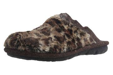 ROMIKA - Mikado 99 - Damen Hausschuhe - Braun Schuhe in Übergrößen