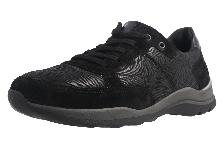 ROMIKA - Damen Halbschuhe - Icaria 04 - Schwarz Schuhe in Übergrößen – Bild 1