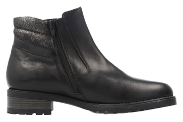 Remonte Stiefeletten in Übergrößen Schwarz D8275-01 große Damenschuhe – Bild 4
