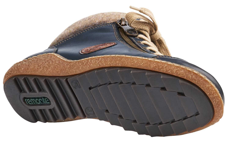 Remonte Stiefel in Übergrößen Blau R4775-14 große Damenschuhe – Bild 3