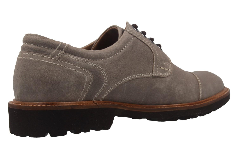 MANZ - Herren Business Schuh - Rock Suede Eva - Grau Schuhe in Übergrößen – Bild 3