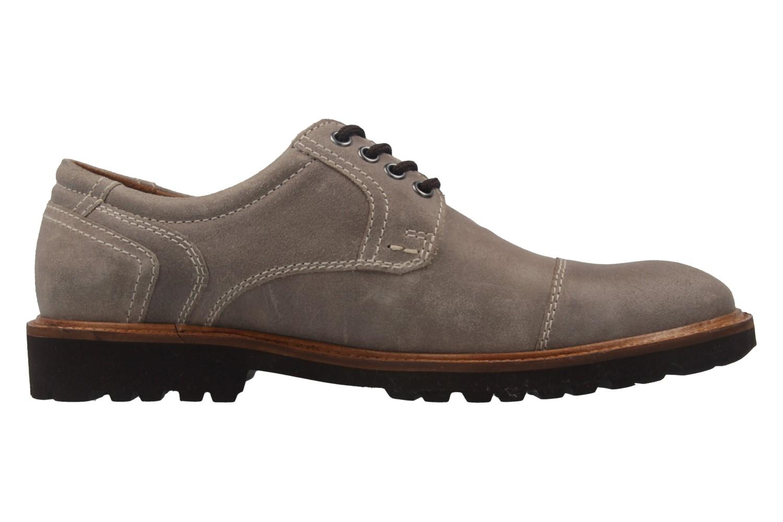 MANZ - Herren Business Schuh - Rock Suede Eva - Grau Schuhe in Übergrößen – Bild 4