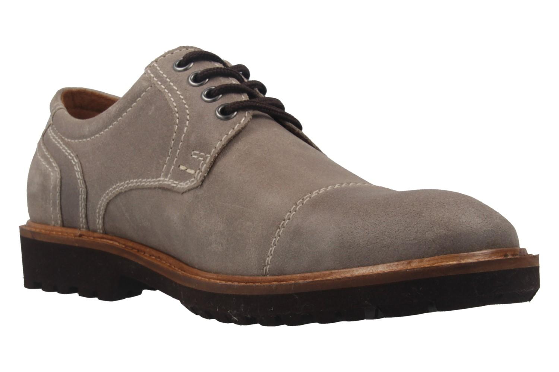 MANZ - Herren Business Schuh - Rock Suede Eva - Grau Schuhe in Übergrößen – Bild 5