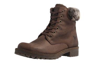 Mustang Shoes Boots in Übergrößen Braun 2837-605-32 große Damenschuhe – Bild 1