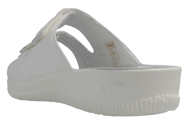 ROMIKA - Salina 02 - Damen Pantoletten - Weiß Schuhe in Übergrößen – Bild 3