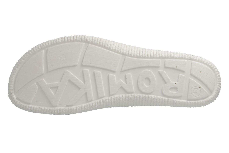 ROMIKA - Salina 02 - Damen Pantoletten - Weiß Schuhe in Übergrößen – Bild 8
