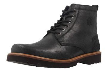 MANZ - Herren Boots - Schwarz Schuhe in Übergrößen – Bild 1