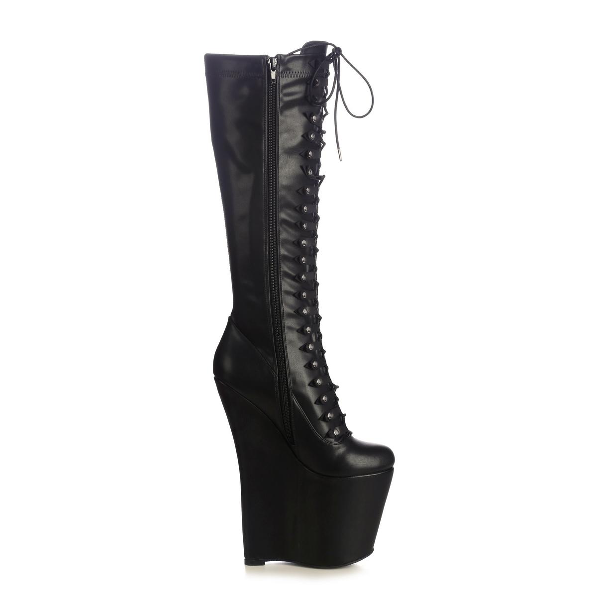 Giaro Mistery 1004 Stiefel in Übergrößen Schwarz große Damenschuhe – Bild 4