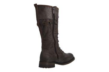 MUSTANG - Damen Stiefel - Dunkelgrau Schuhe in Übergrößen – Bild 3