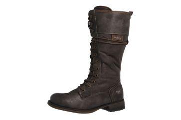 MUSTANG - Damen Stiefel - Dunkelgrau Schuhe in Übergrößen – Bild 1
