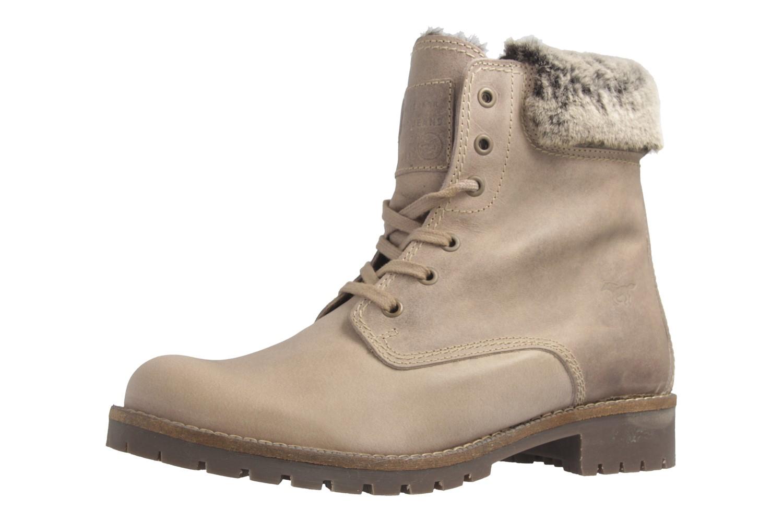 MUSTANG - Damen Boots - Hellbraun Schuhe in Übergrößen – Bild 1