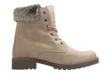 MUSTANG - Damen Boots - Hellbraun Schuhe in Übergrößen – Bild 5