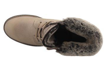 MUSTANG - Damen Boots - Hellbraun Schuhe in Übergrößen – Bild 8