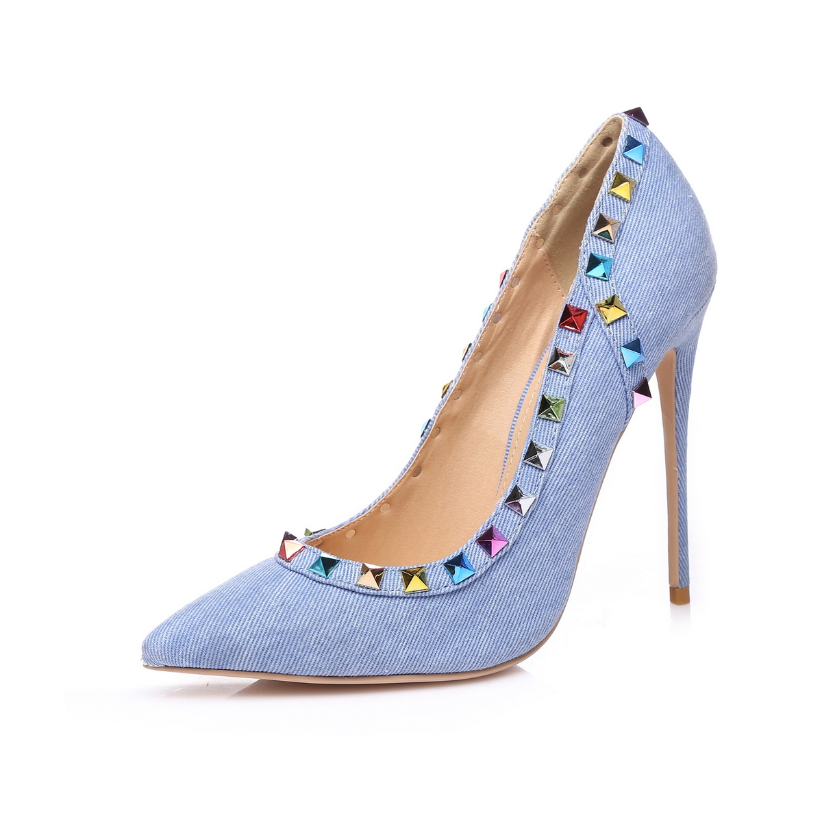 GIARO - Damen High Heels - Blau Schuhe in Übergrößen – Bild 1