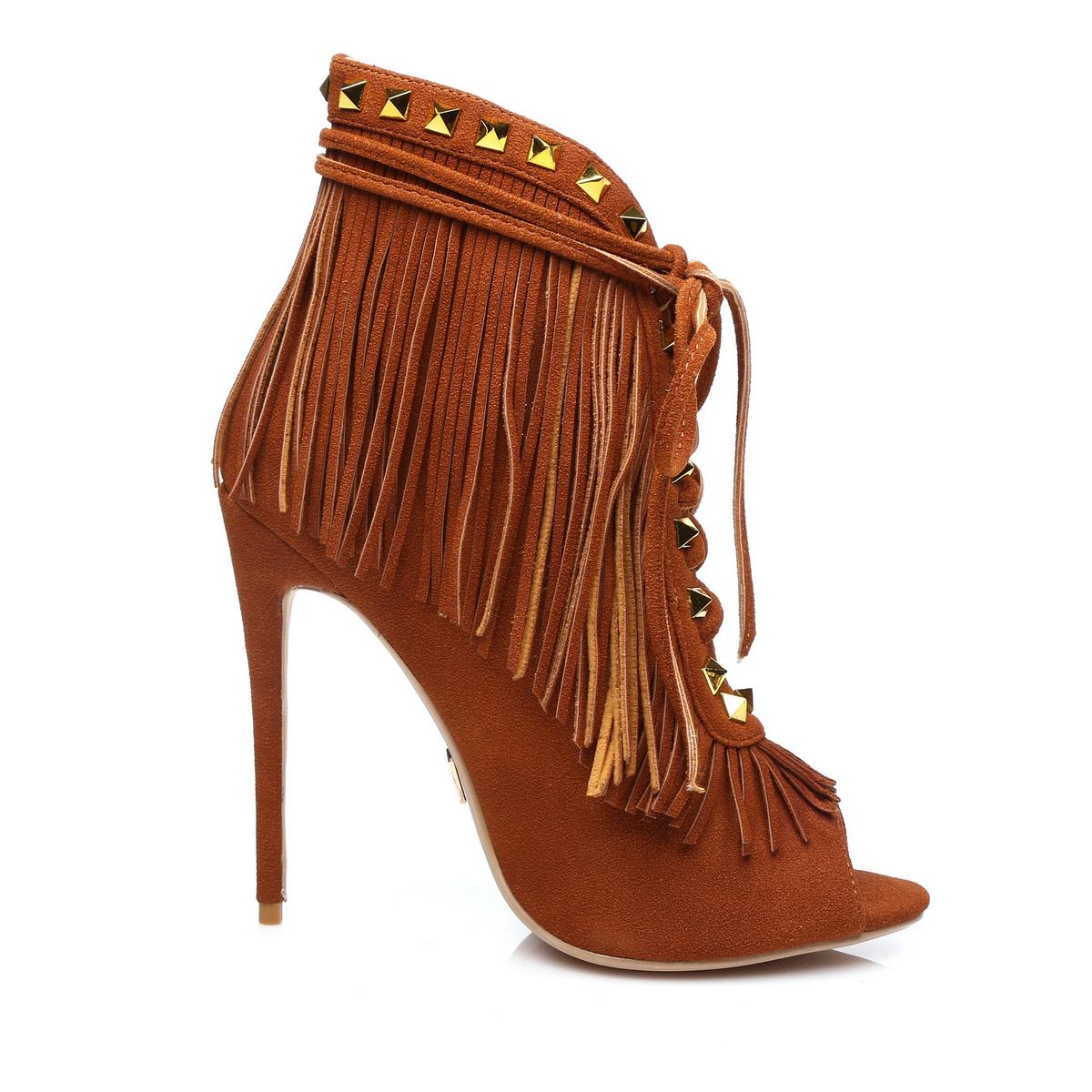GIARO - Damen High Heels - Braun Schuhe in Übergrößen – Bild 4