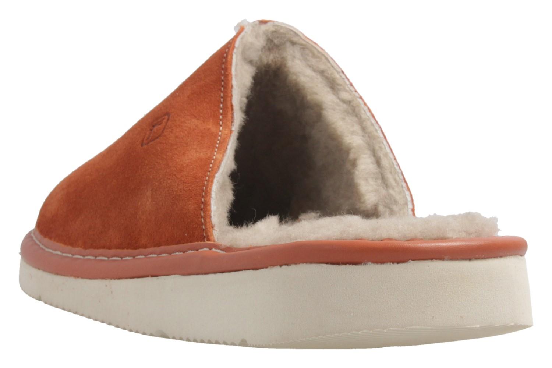 Fortuna - Nelly Flex - Damen Hausschuhe Lammfell - Orange Schuhe in Übergrößen – Bild 3
