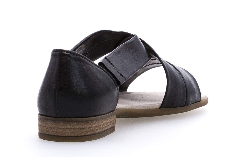 Gabor Comfort Sport Sandalette in Übergrößen Schwarz 82.761.27 große Damenschuhe – Bild 3