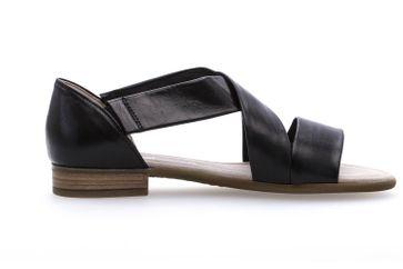 Gabor Comfort Sport Sandalette in Übergrößen Schwarz 82.761.27 große Damenschuhe – Bild 4