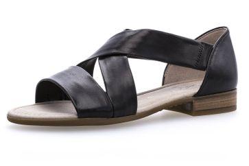 Gabor Comfort Sport Sandalette in Übergrößen Schwarz 82.761.27 große Damenschuhe – Bild 1
