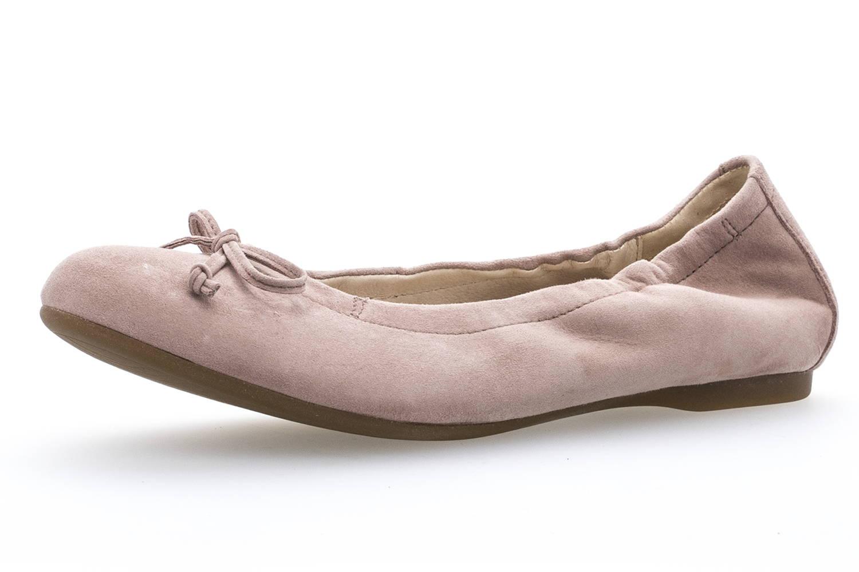 Gabor Gabor Casual Ballerina in Übergrößen Rosa 84.120.14 große Damenschuhe – Bild 1