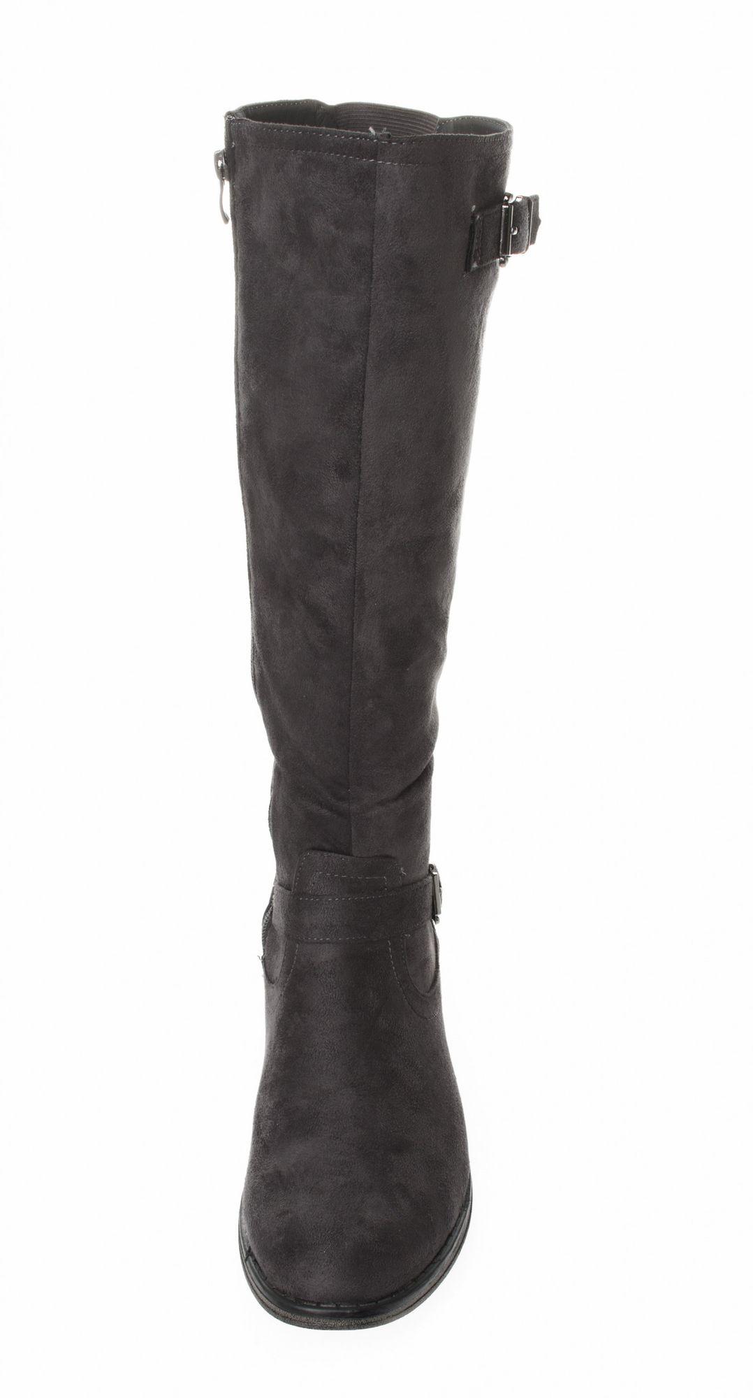FITTERS FOOTWEAR - Vanessa - Damen Stiefel - Grau Schuhe in Übergrößen – Bild 4