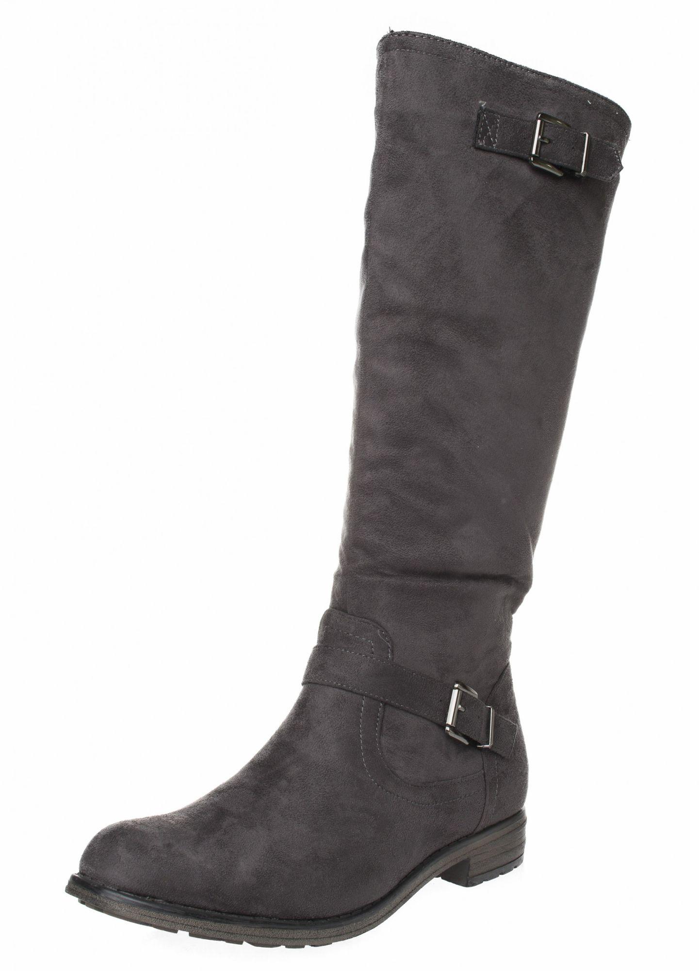 FITTERS FOOTWEAR - Vanessa - Damen Stiefel - Grau Schuhe in Übergrößen – Bild 1