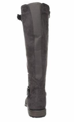 FITTERS FOOTWEAR - Vanessa - Damen Stiefel - Grau Schuhe in Übergrößen – Bild 3