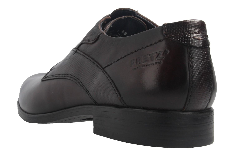 Fretz Men Oskar Business-Schuhe in Übergrößen Braun 7105.1274-59 große Herrenschuhe – Bild 3