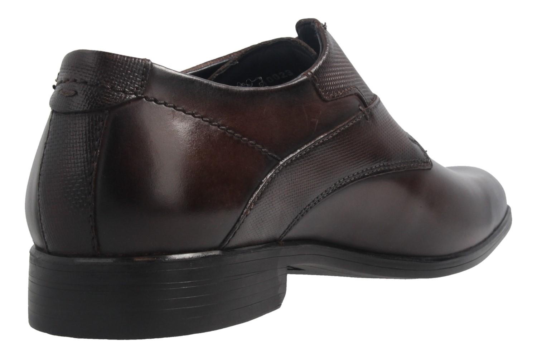 Fretz Men Oskar Business-Schuhe in Übergrößen Braun 7105.1274-59 große Herrenschuhe – Bild 4