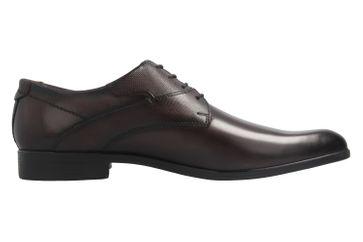 Fretz Men Oskar Business-Schuhe in Übergrößen Braun 7105.1274-59 große Herrenschuhe – Bild 5