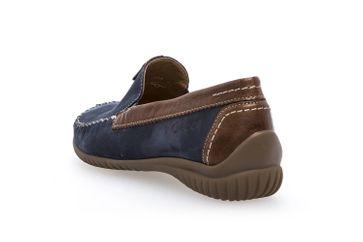 Gabor Comfort Basic Mokassin in Übergrößen Blau 86.090.46 große Damenschuhe – Bild 2