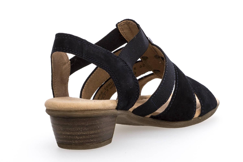 Gabor Comfort Sport Sandalette in Übergrößen Blau 82.472.26 große Damenschuhe – Bild 3
