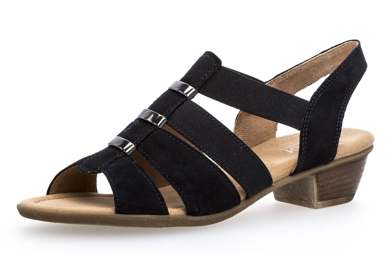 Gabor Comfort Sport Sandalette in Übergrößen Blau 82.472.26 große Damenschuhe – Bild 1