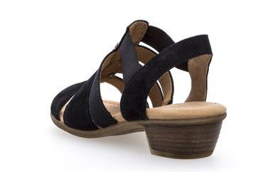 Gabor Comfort Sport Sandalette in Übergrößen Blau 82.472.26 große Damenschuhe – Bild 2