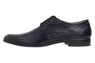 FRETZ MEN - Herren Business Schuhe - Oskar Crust - Blau Schuhe in Übergrößen – Bild 2