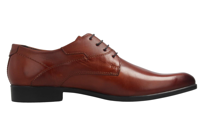 Fretz Men Oskar Business-Schuhe in Übergrößen Braun 7105.1274-37 große Herrenschuhe – Bild 5