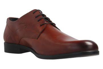 Fretz Men Oskar Business-Schuhe in Übergrößen Braun 7105.1274-37 große Herrenschuhe – Bild 6
