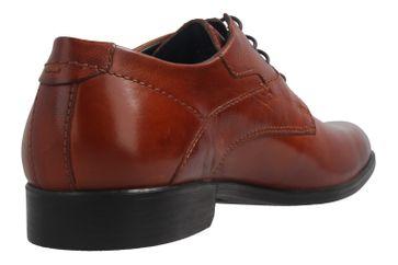 FRETZ MEN - Herren Business Schuhe - Oskar Crust - Braun Schuhe in Übergrößen – Bild 4