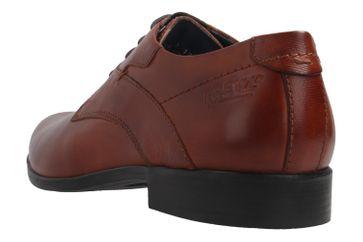 Fretz Men Oskar Business-Schuhe in Übergrößen Braun 7105.1274-37 große Herrenschuhe – Bild 3
