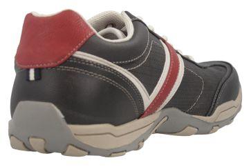 Mustang Shoes Halbschuhe in Übergrößen schwarz/rot 4027-310-95 große Herrenschuhe – Bild 4