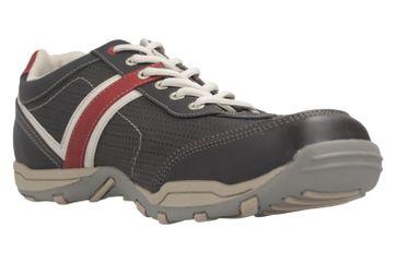 Mustang Shoes Halbschuhe in Übergrößen schwarz/rot 4027-310-95 große Herrenschuhe – Bild 5