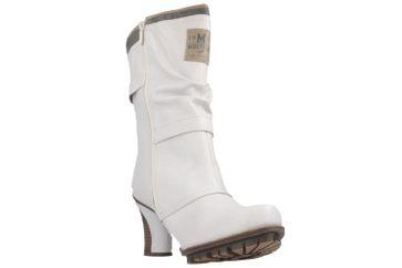 MUSTANG - Damen Stiefel - Weiß Schuhe in Übergrößen – Bild 6