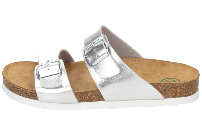 DR. BRINKMANN - Damen Pantolette Silber - Schuhe in Übergrößen – Bild 2