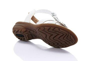 Remonte Sandalen in Übergrößen Silber R3633-90 große Damenschuhe – Bild 3