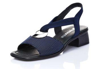 Remonte Sandalen in Übergrößen Blau R5953-14 große Damenschuhe
