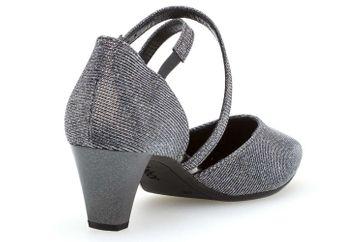 Gabor Gabor Fashion Pumps in Übergrößen Grau 81.363.69 große Damenschuhe – Bild 3
