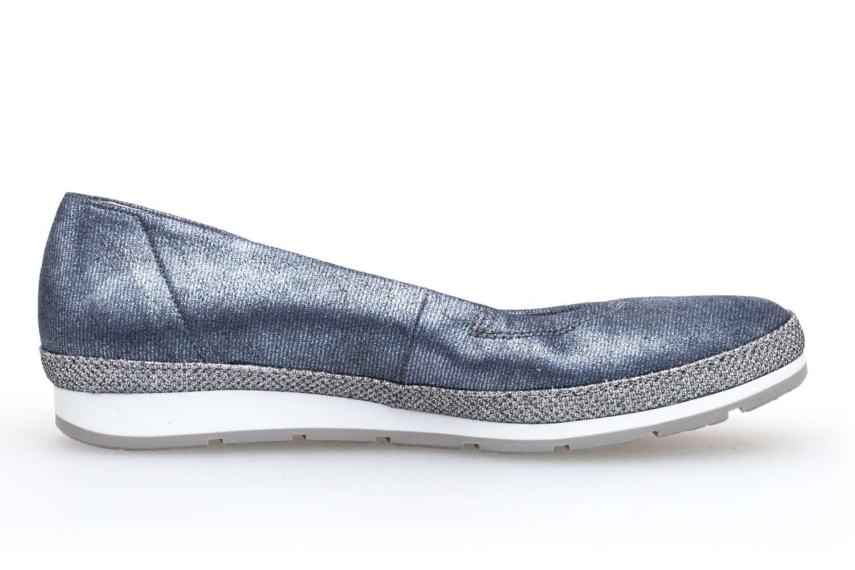 Gabor Comfort Sport Ballerina in Übergrößen Blau 82.400.86 große Damenschuhe – Bild 4