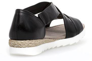 Gabor Comfort Sport Sandalette in Übergrößen Schwarz 82.711.27 große Damenschuhe – Bild 3